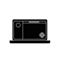 pc laptop business vector image