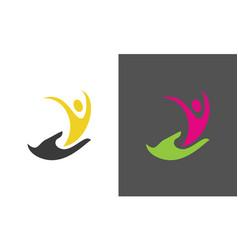 people healthy logo vector image