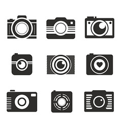 Photocamera Collection vector