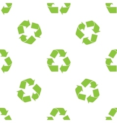 Recycle Symbol pattern vector image