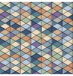 Retro geometric structure vector image vector image