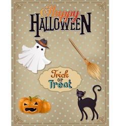 halloween 6 vector image vector image