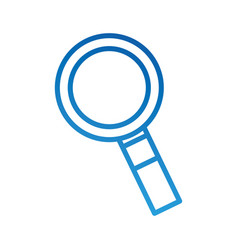 magnifier system search find information vector image