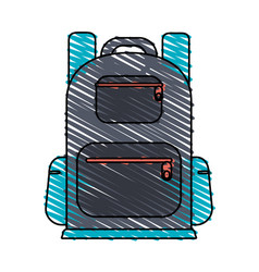 Backpack icon image vector
