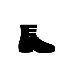 boots icon on white background clothing or vector image