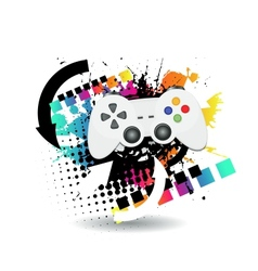 Game joypad vector