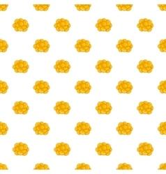 Ovary pattern cartoon style vector