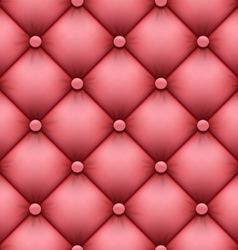 seamless background of leather upholstery vector image
