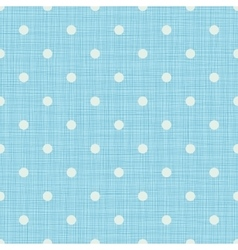 Seamless blue background with lines and polka dots vector