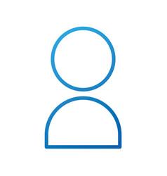 User icon human person symbol avatar login web vector