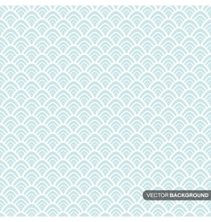 Wallpaper seamless pattern in vintage style vector image