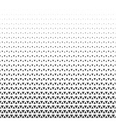 abstract geometric triangle halftone retro vector image