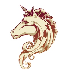 Vintage horse vector