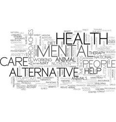 Alternative medicines why silence text word vector