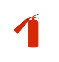 Fire extinguisher icon fire extinguisher sign vector