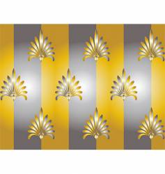 silver and gold vector image vector image