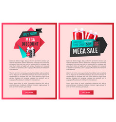 special promotion shop to purchase store items vector image