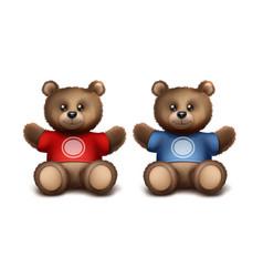 gift bears vector image vector image