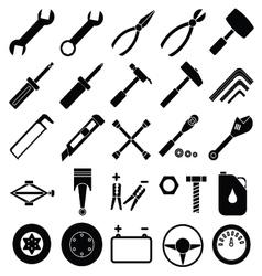 Auto Mechanic Tools set vector image vector image