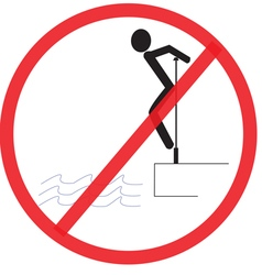 Do not clamber not allowed sign warning symbol vector