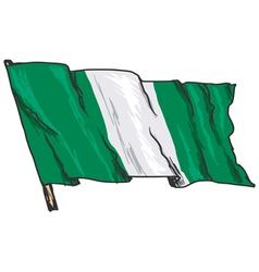 Flag of Nigeria vector