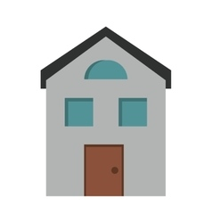 House structure window style vector