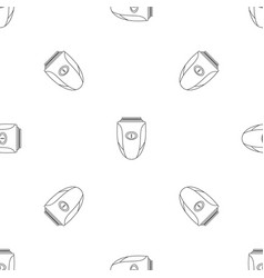 Woman shaver pattern seamless vector