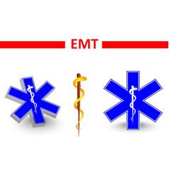 emt vector image vector image