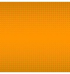 Orange Halftone Pattern vector image vector image