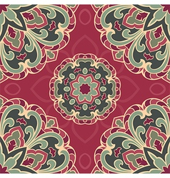 Colorful pattern of mandala vector image vector image