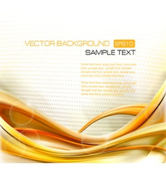 Abstract Elegant Gold Background vector image
