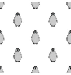 penguinanimals single icon in cartoon style vector image