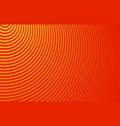 Abstract horizontal striped background ultra thin vector