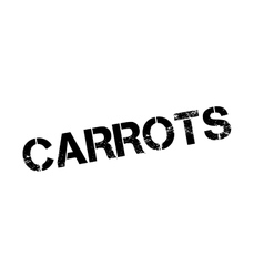 Carrots rubber stamp vector image