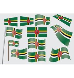 Commonwealth dominica flag vector