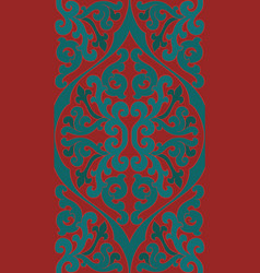 Red and green pattern vector