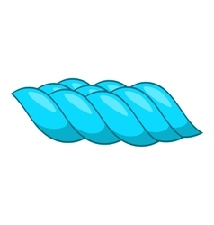 Sea wave icon cartoon style vector