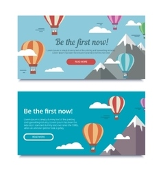 Banners for SEO vector image