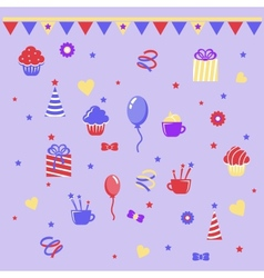 Birthday clipart vector image