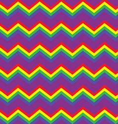 Chevron rainbow background vector