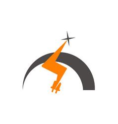 Electricity logo vector