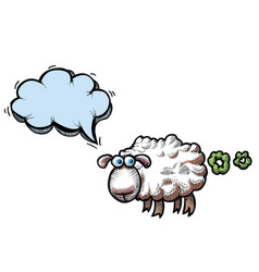 Farting sheep-100 vector