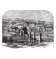 Fredericksburg va vintage vector