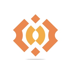 Logo Design Letter C Arrow Icon Symbol Abstract vector