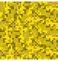 modern pixel camouflage desert pattern vector image