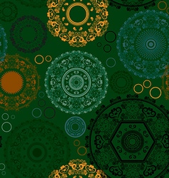 Seamless Diwali Patterned Background vector image