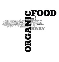 what the heck is organic food anyway text word vector image