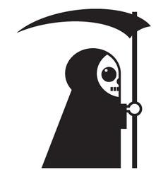 death icon vector image vector image