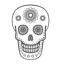 Ornamental Skull vector image vector image