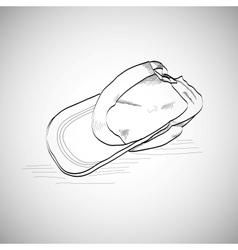 Drawing caps baseball cap lying on the floor vector image vector image